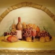 Csendélet - Bor és szőlő