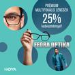 Szemüveg Akció Multifokális lencsék 25%, szemüvegkeretek 40% kedvezménnyel