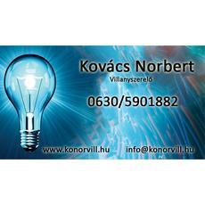KoNor Vill - villanyszerelés