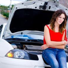lerobbant autó mentése