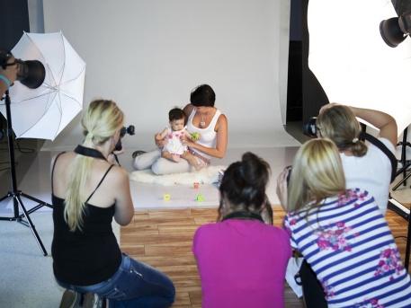 Werkfotó a babafotós workshopról