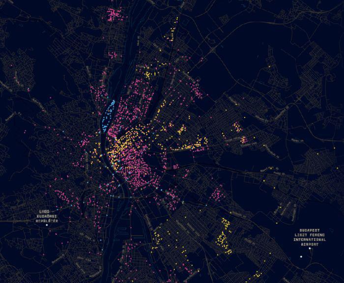 Xvi Kerulet Erdekes Terkep A Budapesti Terfigyelo Kamerakrol