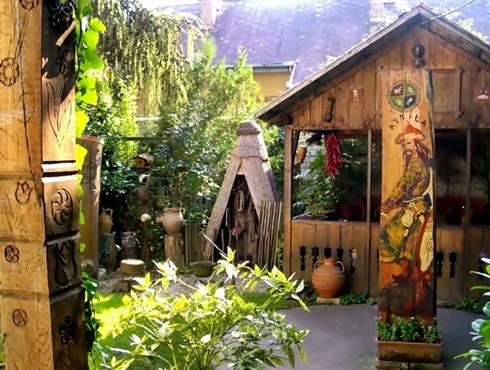 A múzeum kertje